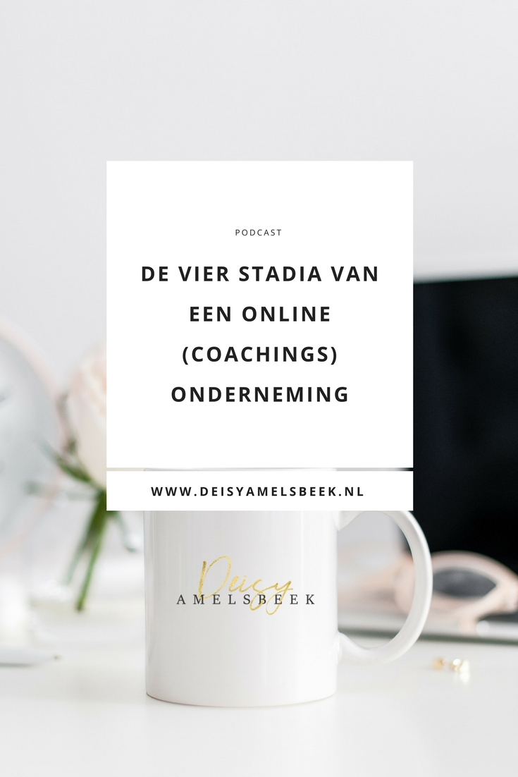 podcast30.hero  - De vier stadia van een online coaching business