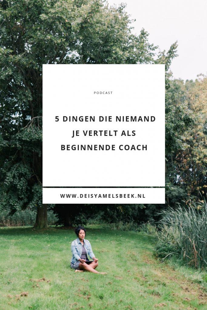 beginnende coach