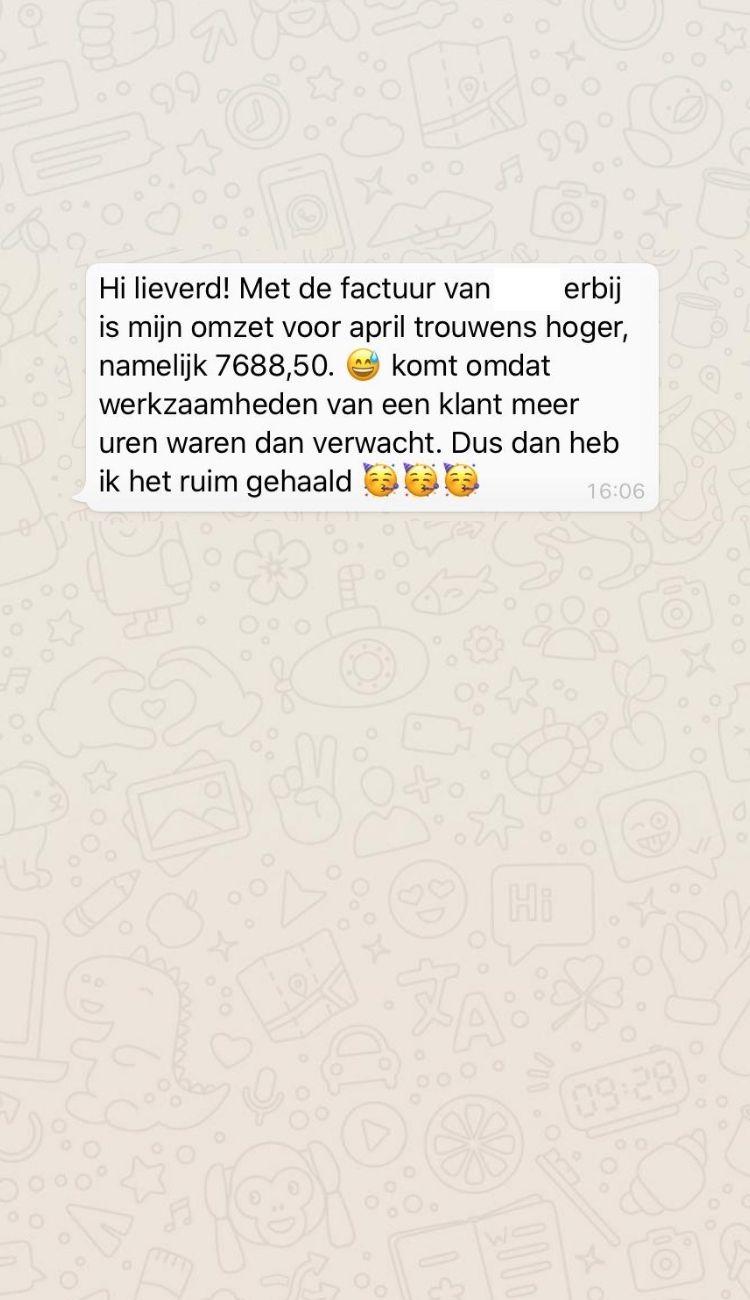 whatsapp 4 - Werk met mij