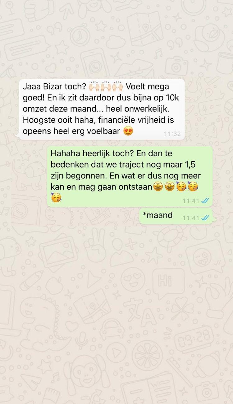 whatsapp 5 - Werk met mij
