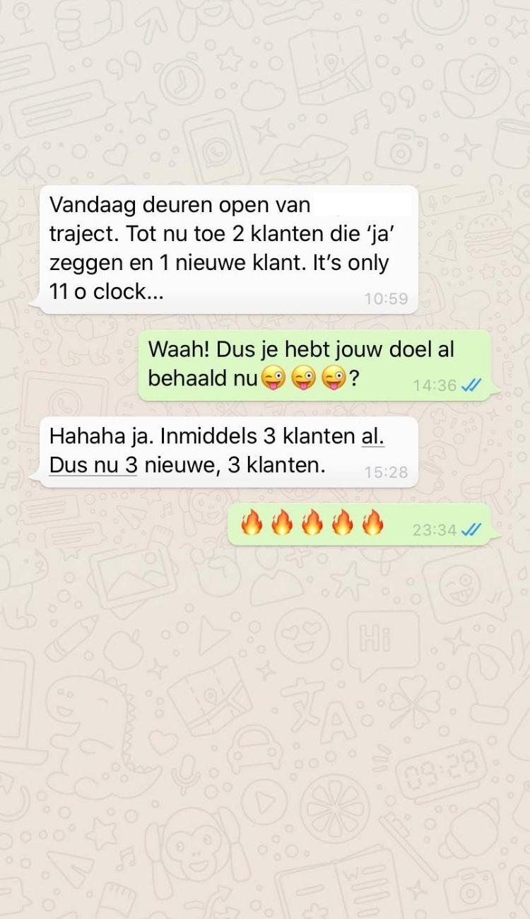whatsapp 7 - Werk met mij